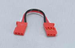 Gyro Double End Ext Lead-55Mm/Red - p-gyxl-055red