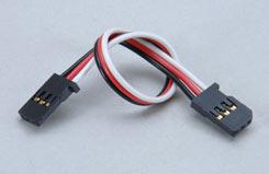 Gyro Double End Ext Lead-130Mm/Blk - p-gyxl-130blk