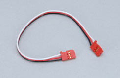 Gyro Double End Ext Lead-200mm/Red - p-gyxl-200red