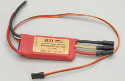 Jeti Jes 40-3P Opto Speed Controlle - p-jesb40-3popto