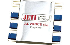 Jeti Advance Program Card Aero - p-jesbapcard