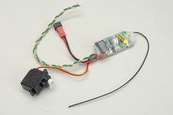 Receiver 2.4GHz,ESC&Servo-81Series - p-js-81017