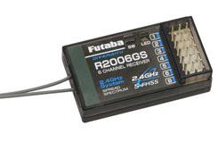 Futaba 6Ch Rx 2.4GHz S-FHSS (Air) - p-r2006gs-2-4g
