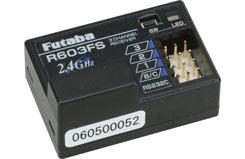 Futaba 3Ch Receiver 2.4Ghz (Car/Boa - p-r603fs-2-4g