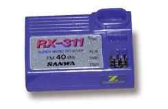 Sanwa Rx - 3Ch 40Mhz Fm (Rx-311)(Z) - p-rx311-40