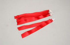 27MHz Frequency Pennant - Red (Ea) - p-sl012b