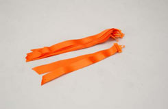 27Mhz Frequency Pennant - Orange(Ea - p-sl012c
