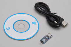 USB Adapter and CD - XT2e/Rail - p-xtm150044