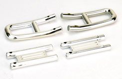 Front & Rear Chrome Bumpers - pd1512
