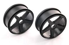 5 Spoke Wheels Black - pd1946b