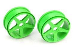 5 Spoke Wheels Green - pd1946g