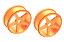 5 Spoke Wheels Orange - pd1946o