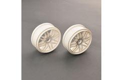 Multi Spoke Wheel White (2) - pd1981w