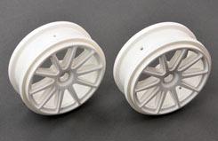 10 Spoke Wheel White Pk2 - pd2412-w