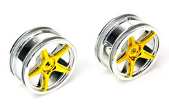 Wheels Silver/Yellow - pd6601y