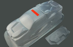 St1 Clear Body Shell - pd6800
