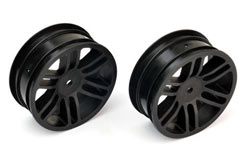 Front Wheels (2) Ta-B Black - pd7932