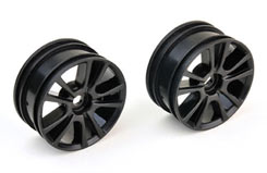 10 Spoke Wheel Black 26Mm - pd9112