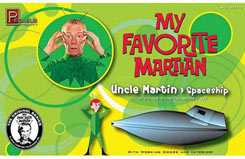 1/18 Uncle Martin & Spaceship Kit - peg9012