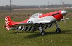 Flying Legends P-51 Mustang (85cc) - q-fl100