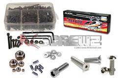 T Rex 600N Ss Screw Set - rcsalg004