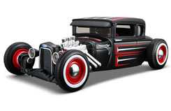 Maisto 1/24 1929 Ford Model A Black - rt32175