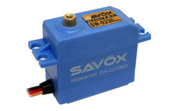 Savox SW0230MG Waterproof HV M - sav-sw0230mg