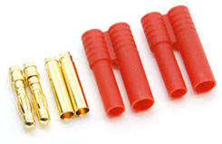 4MM Bullet Connector Red Pr - src-50023