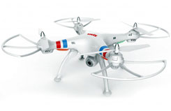 2.4Ghz X8 Quadcopter HD WiFi Cam - sysx8w