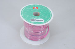 Silicone Wire 12Awg P/F Fl.Pink - t-gs12-flp