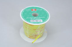 Silicone Wire 12Awg P/F Fl.Yellow - t-gs12-fly