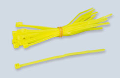 Tie-Strap 4inch/102Mm Fl.Yellow (Pk20) - t-ip220fy
