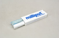 Milliput Epoxy Putty 4Oz - Sil.Grey - t-mpt3