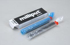 Milliput Epoxy Putty 4Oz - Black - t-mpt4