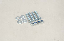 Nyloc Nut/Bolt/Washer - 5Mm (Pk4) - t-sl042d