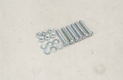Nut/Bolt/Washer - 4X25Mm (Pk6) - t-sl043g