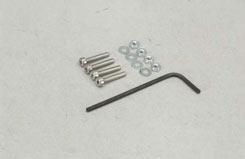 Nut/Cap Screw/Washer - 2X12Mm (Pk4) - t-sl043k