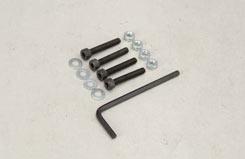 Nut/Cap Screw/Washer - 4X25Mm (Pk4) - t-sl043p