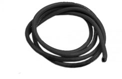 22AWG Silcone Wire Black 1000mm - ta22awgb