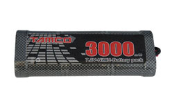 3000mAh 7.2V Nimh Battery - tanb3000