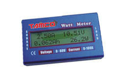 60 Volt/100 Ah Watt Meter - tawm1