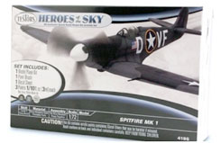 Testors Spitfire Mk1 (US Markings) - te4195ca