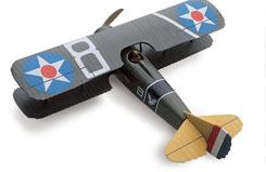 Testors 1/48 Spad WW1 Fighter Kit - te617n