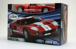 Testors 1/24 2004 Ford GT Red - te640012