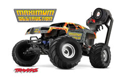 Traxxas Maximum Destruction RTR - trx-3602t
