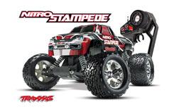 Traxxas 1/8 Nitro Stampede RTR - trx-4109