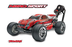 Traxxas Nitro Sport RTR - trx-4510