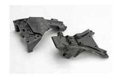 Bulkheads Front Upper/Lower - trx-5530