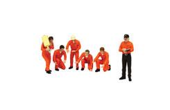 TSM 1/18 Pit Crew Figurines - tsm11ac01c