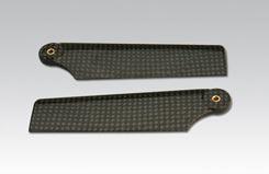 95Mm Carbon Tail Blades - tt3891